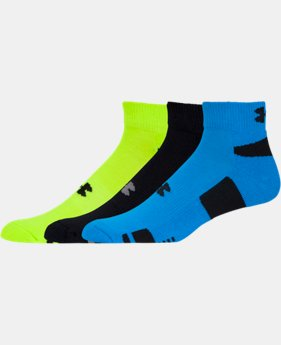 3-Pack Men's UA HeatGear® Low-Cut Socks 3-Pack - 2 for $25  1 Color $14.99