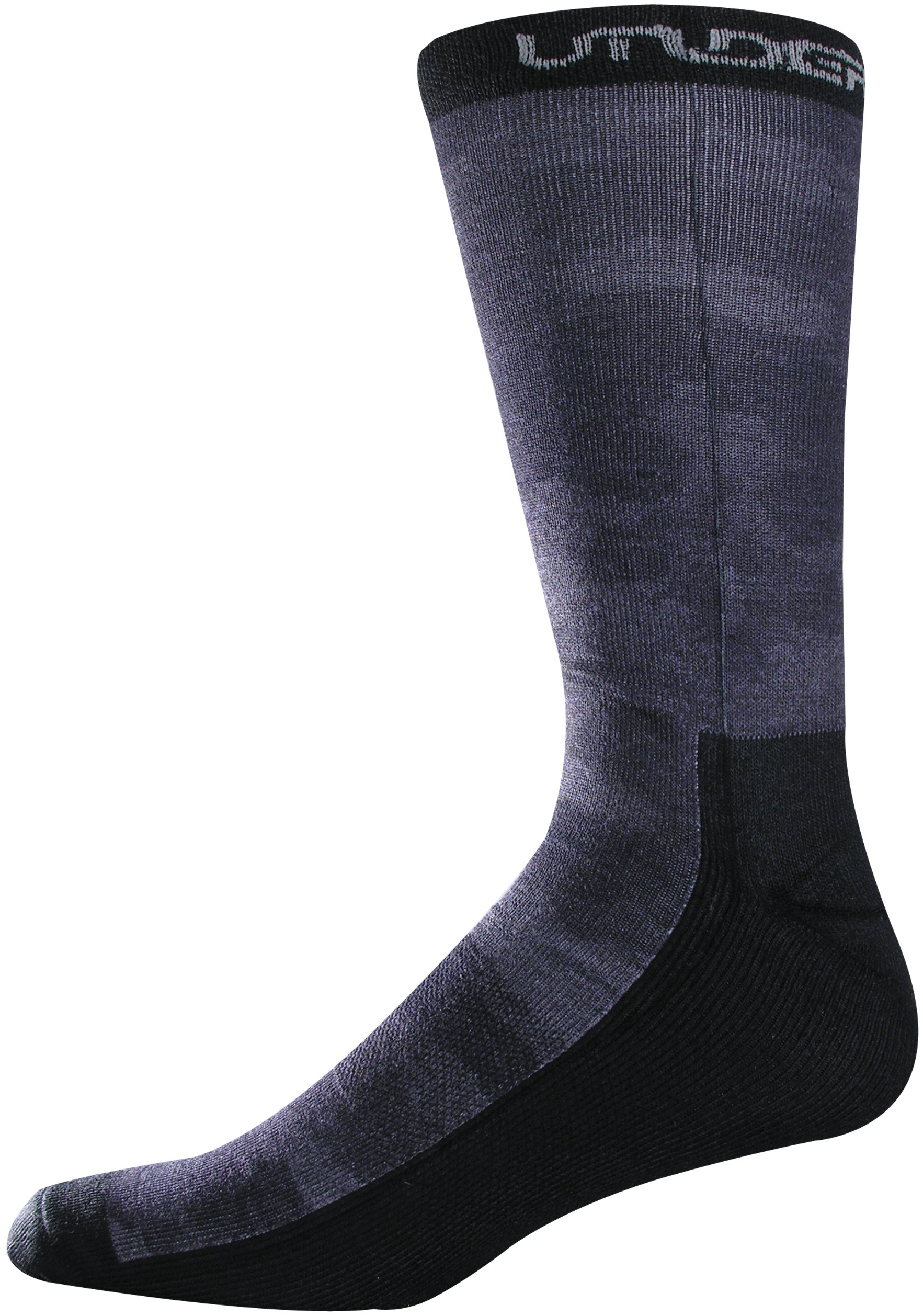 Men's UA Camo Crew Socks, Black , undefined