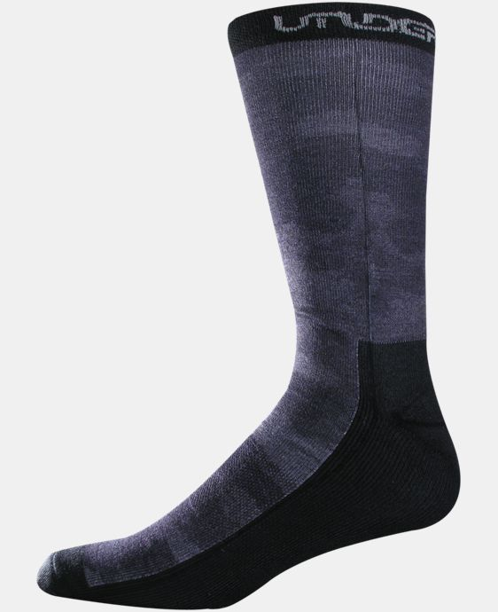 Men's UA Camo Crew Socks LIMITED TIME: FREE U.S. SHIPPING 1 Color $11.99