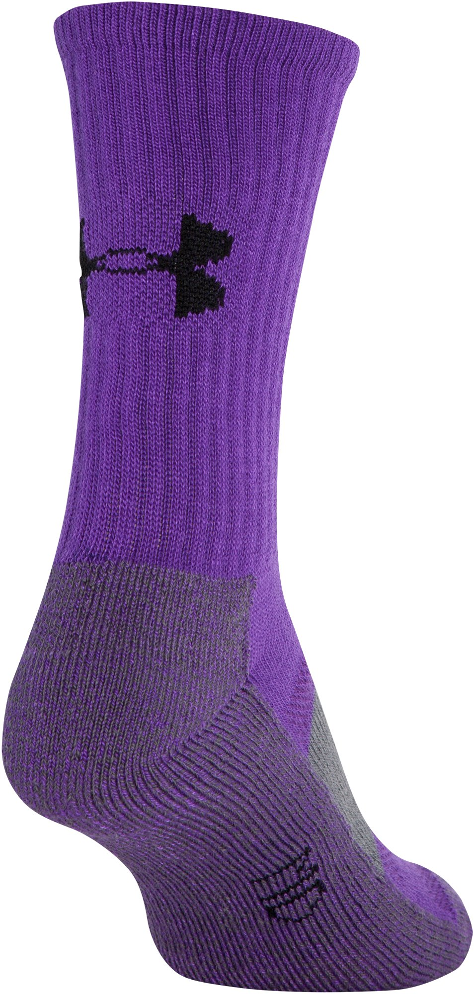 Women's UA Performance Crew Socks, PRIDE