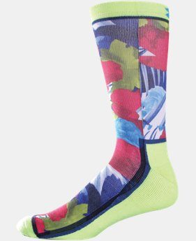 Men's UA GNR Sublimated Crew Socks