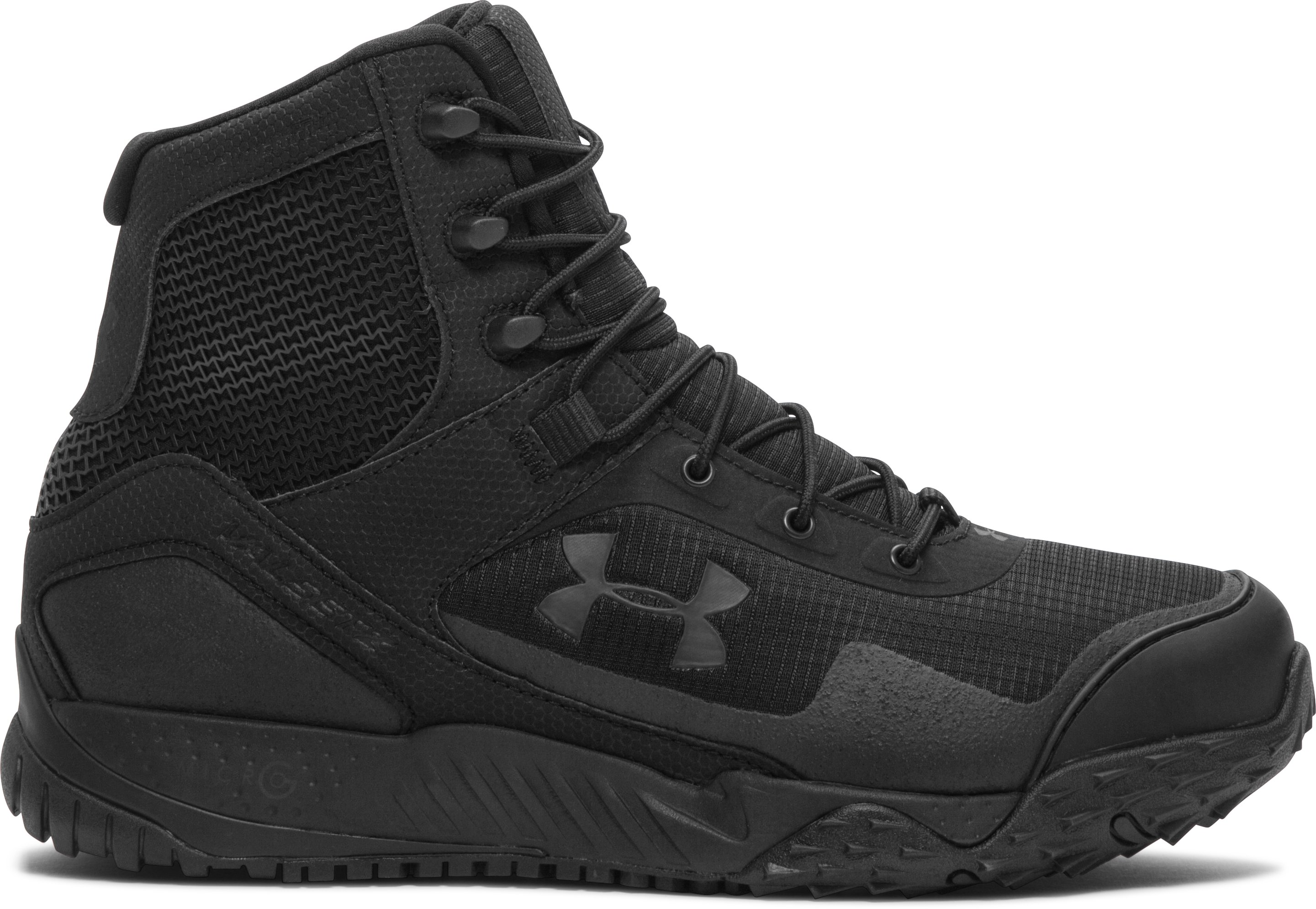 Men's UA Valsetz RTS Tactical Boots — Wide (4E), Black ,