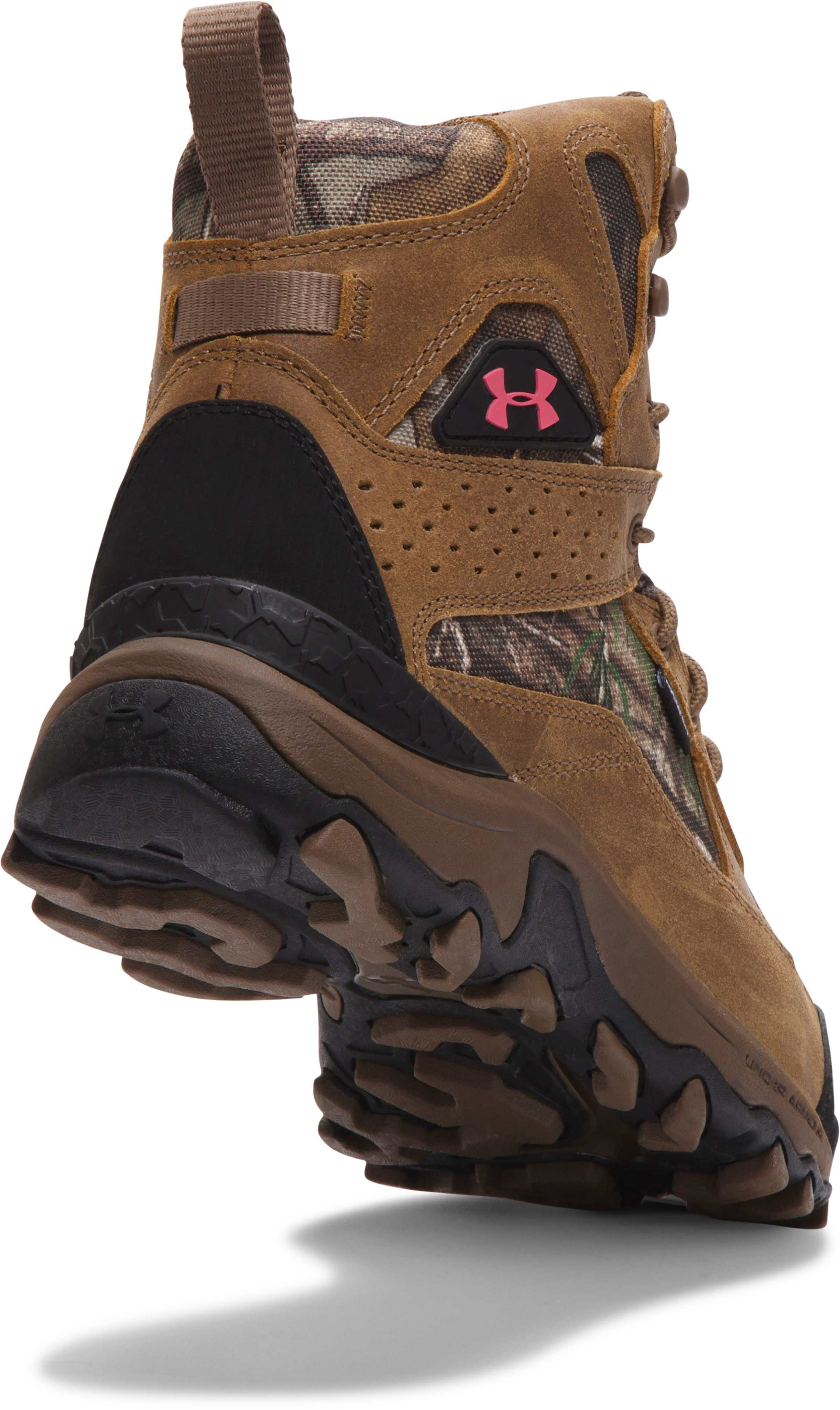 Women's UA Speed Freek Bozeman Hunting Boots, REALTREE AP-XTRA,
