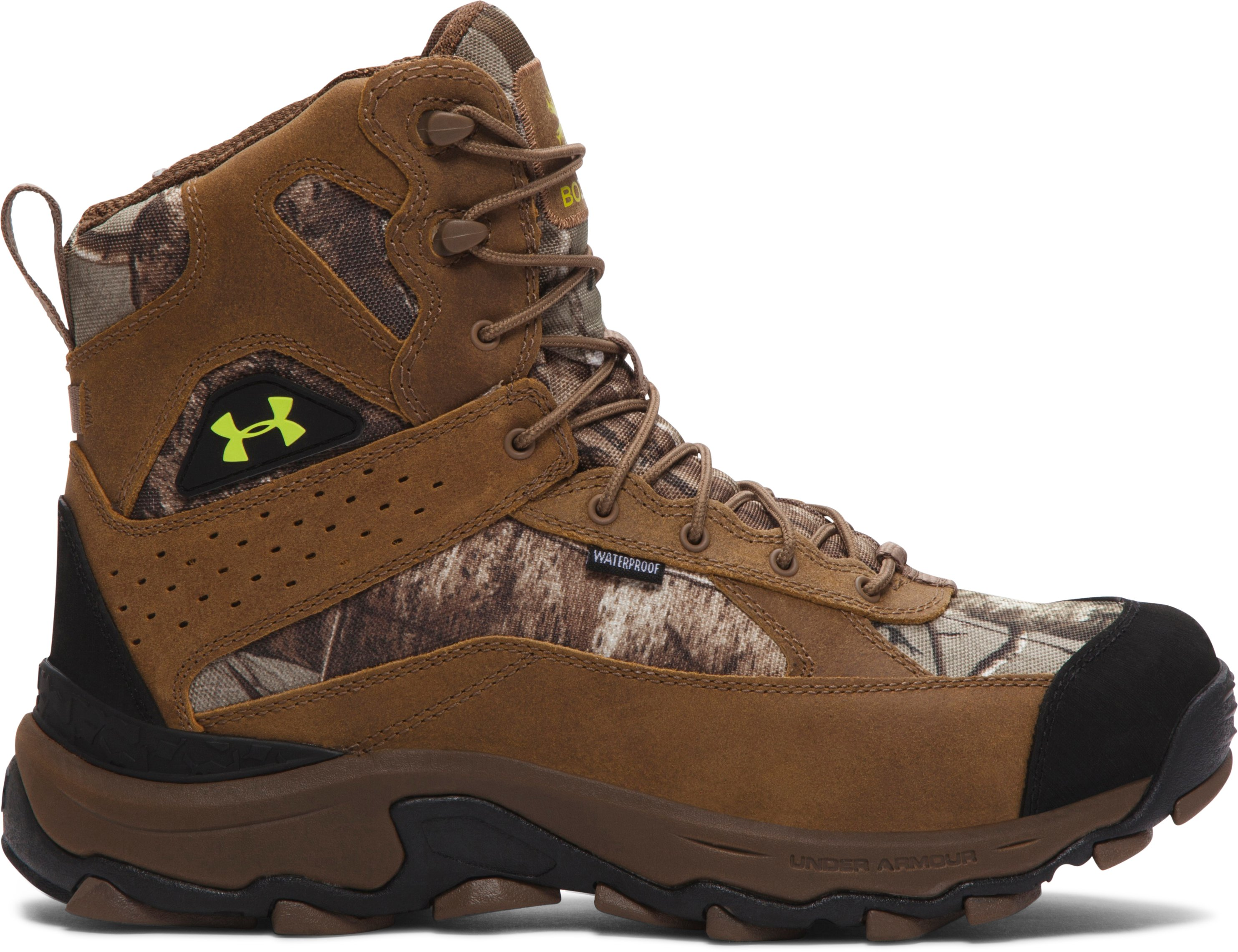 Men's UA Speed Freek Bozeman Hunting Boots — Wide (4E), REALTREE AP-XTRA