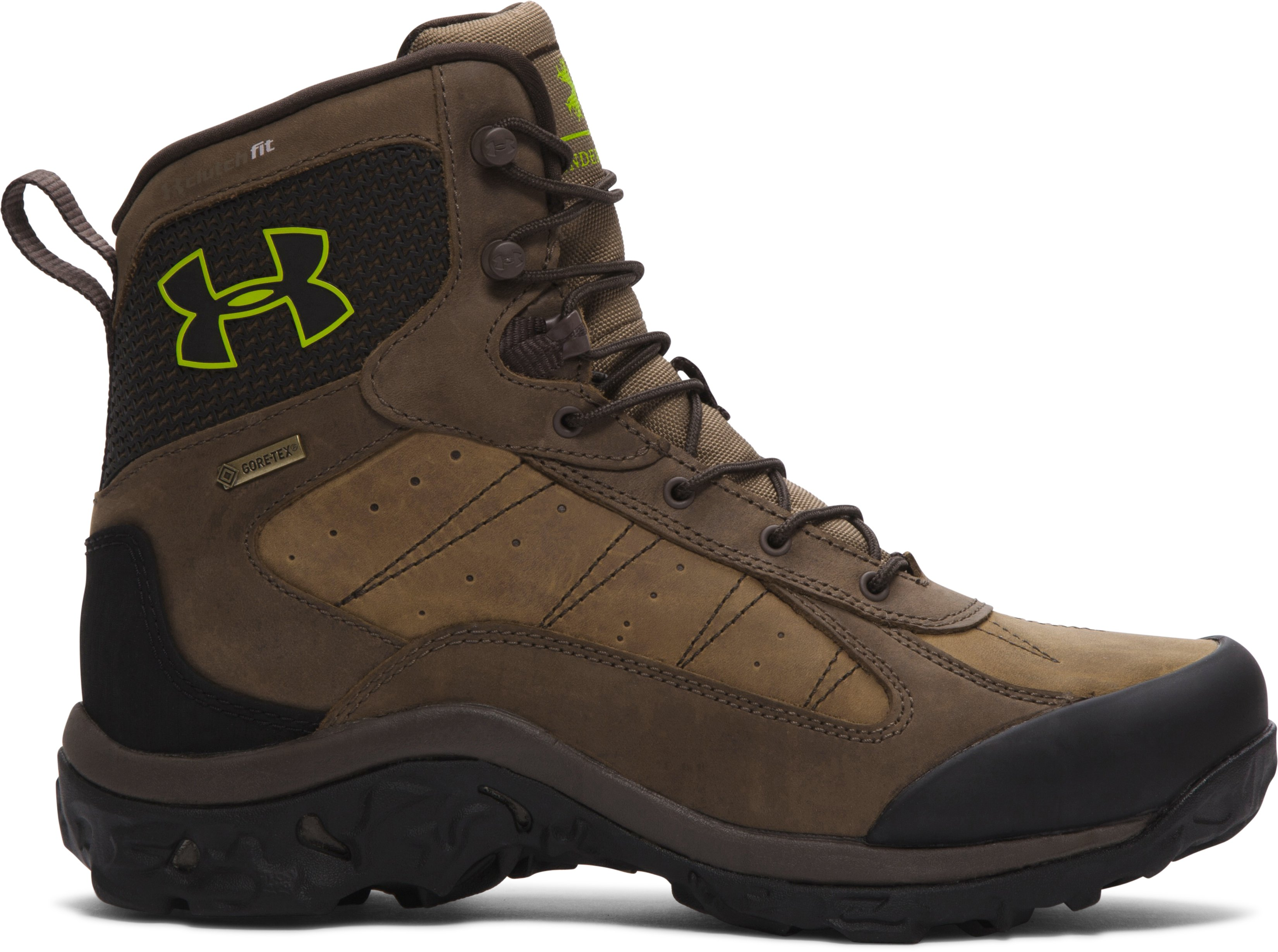 Men's UA Wall Hanger Leather Boots, Uniform, undefined