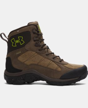 Men's UA Wall Hanger Leather Boots LIMITED TIME OFFER + FREE U.S. SHIPPING 1 Color $138.74
