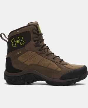 Men's UA Wall Hanger Leather Boots LIMITED TIME: FREE U.S. SHIPPING 1 Color $138.74