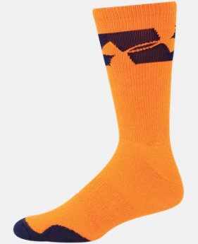 Men's UA Big Logo Crew Socks