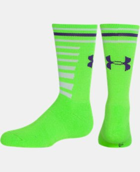Girls' UA Multi Stripe Socks