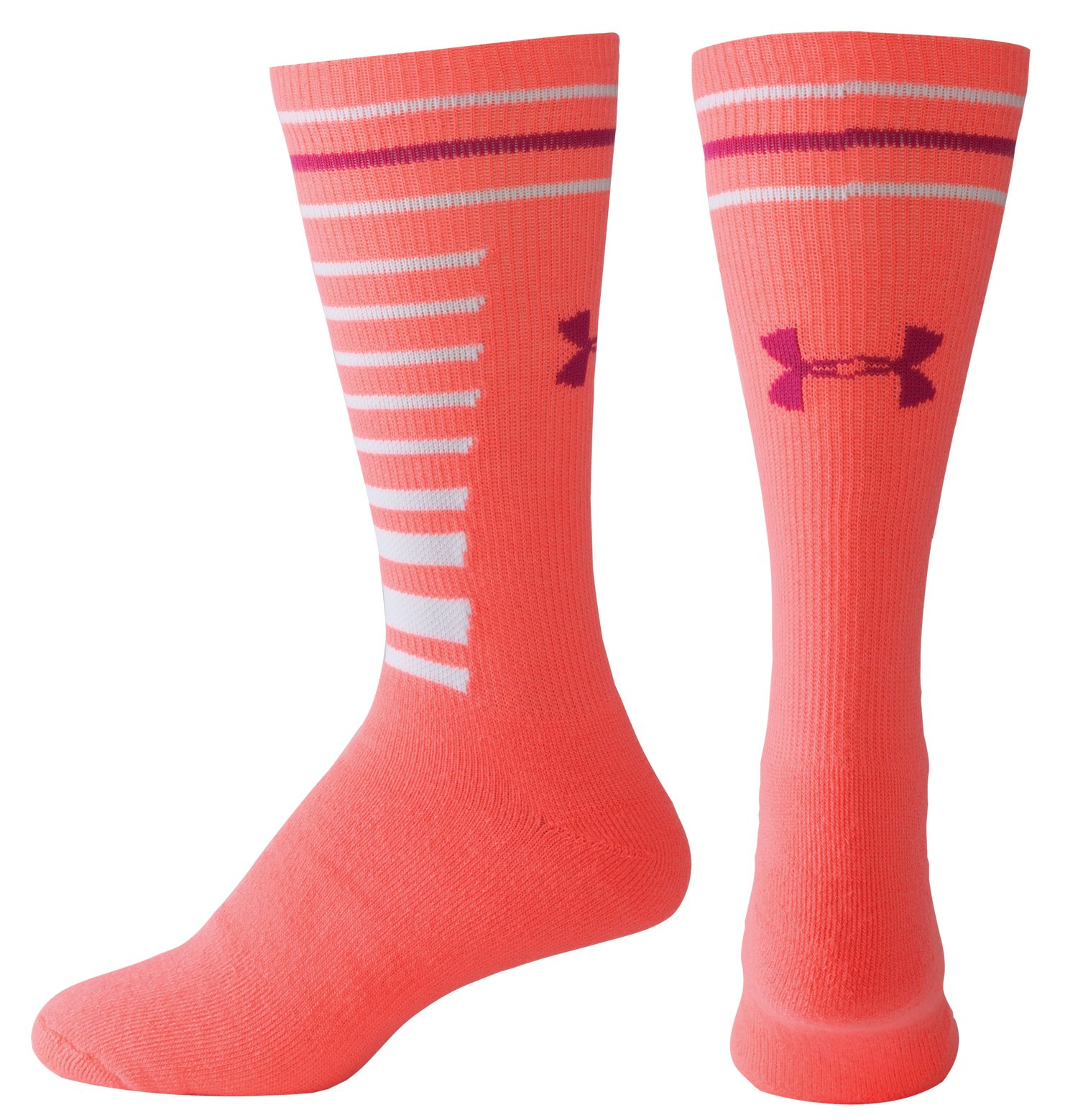 Girls' UA Multi Stripe Socks, BRILLIANCE