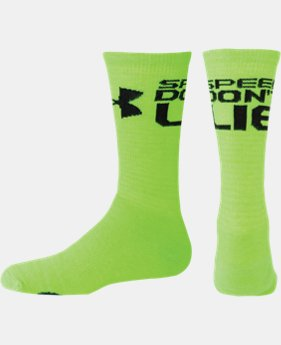 Women's UA Speed Don't Lie Crew Sock LIMITED TIME: FREE U.S. SHIPPING 1 Color $11.99