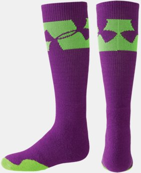 UA Girls' Big Logo Crew Socks LIMITED TIME: FREE U.S. SHIPPING 1 Color $13.99