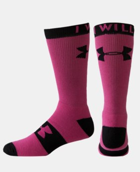 Women's UA I Will Crew Socks