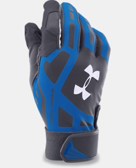 Men's UA Cage Baseball Batting Gloves LIMITED TIME: FREE U.S. SHIPPING 1 Color $20.99
