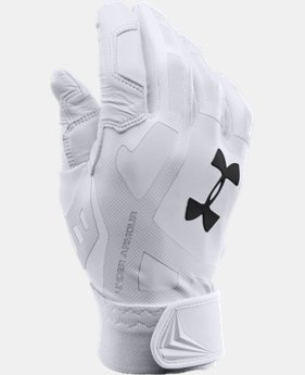 Men's UA Cage Baseball Batting Gloves  1 Color $20.99 to $26.99