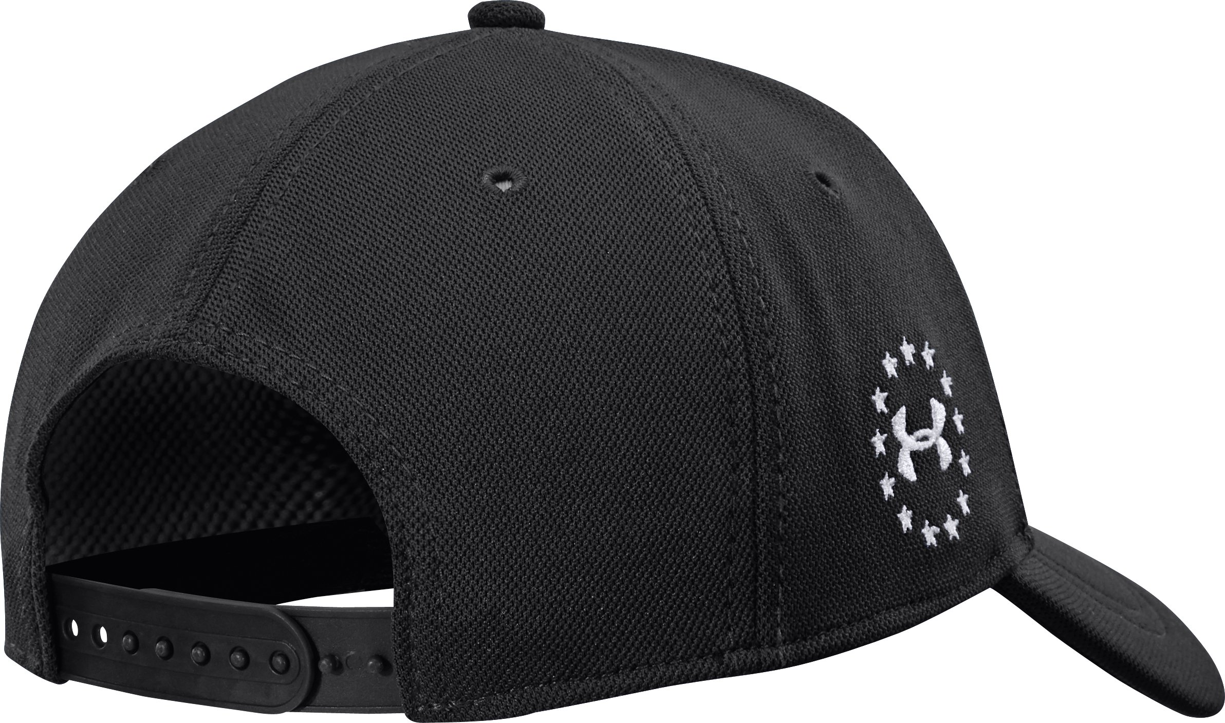 Men's UA WWP Snapback Cap, Black