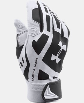 Boys' UA Cage Baseball Batting Gloves