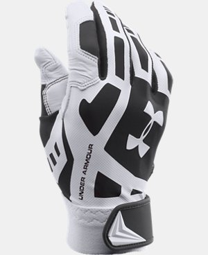 Boys' UA Cage Baseball Batting Gloves LIMITED TIME: FREE U.S. SHIPPING 2 Colors $17.24