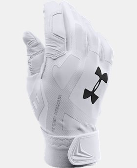 Boys' UA Cage Baseball Batting Gloves LIMITED TIME: FREE U.S. SHIPPING 1 Color $17.24