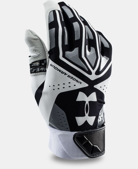 Men's UA Motive Baseball Batting Gloves  1 Color $20.24