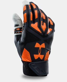 Men's UA Motive Camo Baseball Batting Gloves