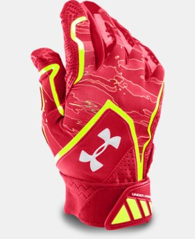 Men's UA Yard Undeniable Baseball Batting Gloves