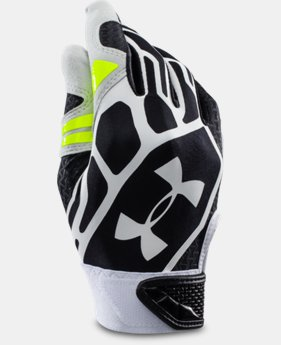 Boys' UA Motive II Baseball Batting Gloves   $27.99