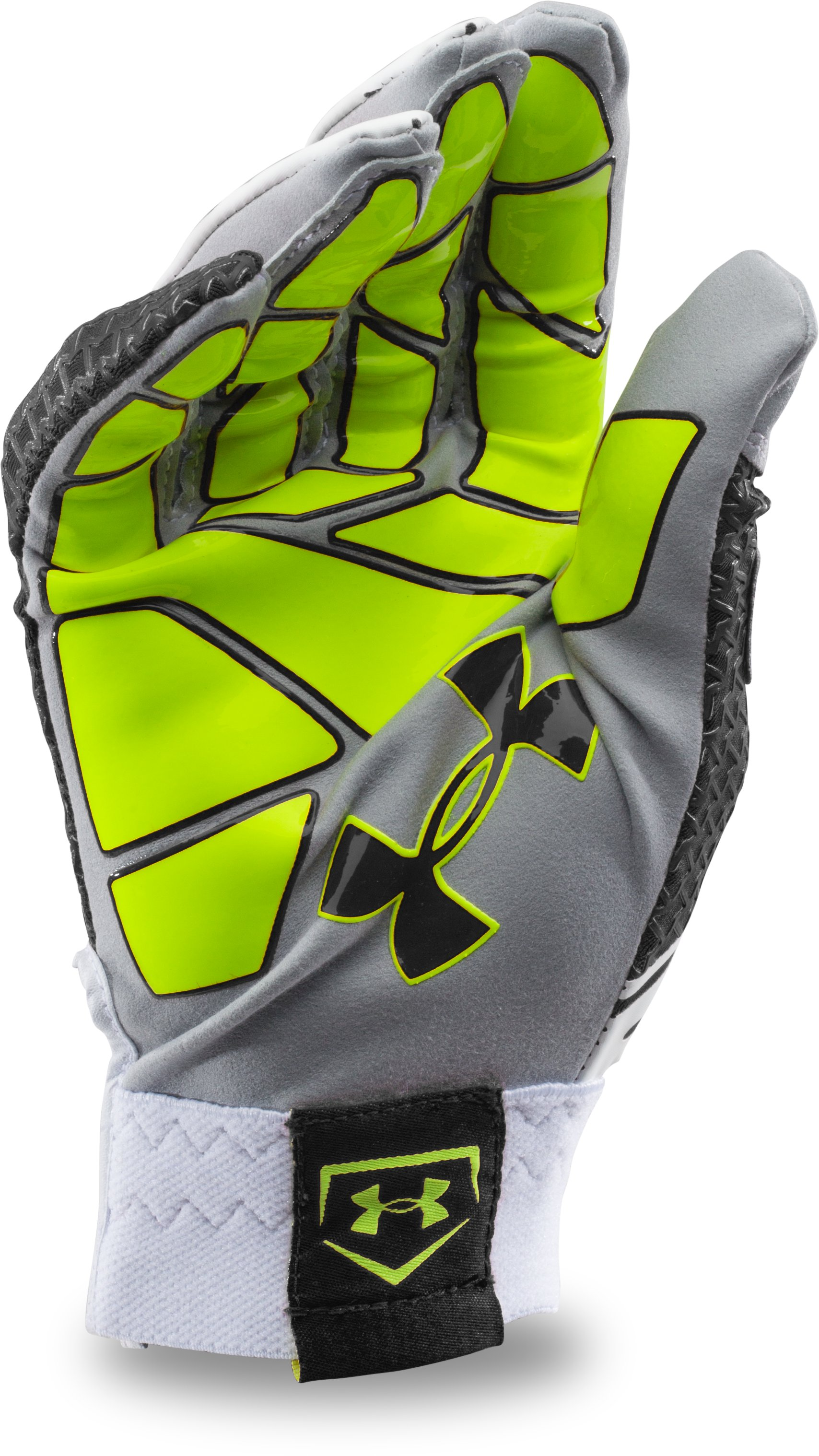 Men's UA Motive Baseball Batting Gloves, Black