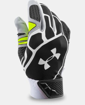 Men's UA Motive II Baseball Batting Gloves   $37.99