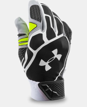 Men's UA Motive Baseball Batting Gloves LIMITED TIME: FREE SHIPPING 1 Color $29.99