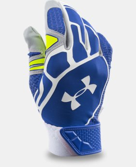 Men's UA Motive II Baseball Batting Gloves LIMITED TIME: FREE U.S. SHIPPING 1 Color $21.74