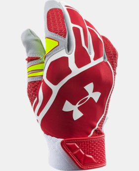Men's UA Motive II Baseball Batting Gloves  4 Colors $37.99