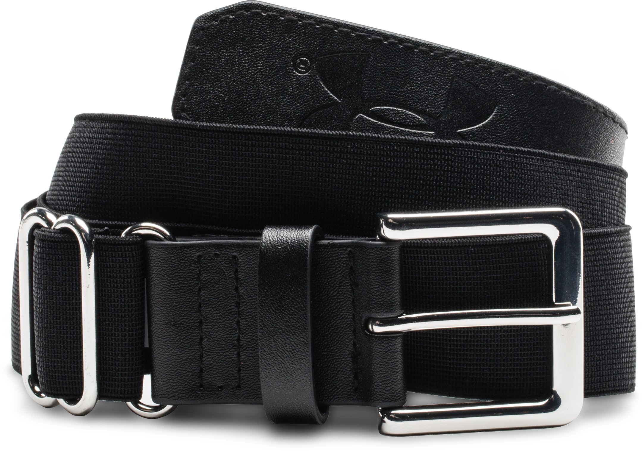 Kids' UA Baseball Belt, Black , undefined