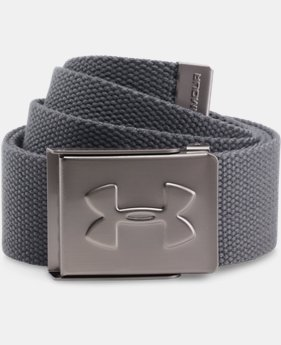 UA Webbed Belt  4 Colors $19.99