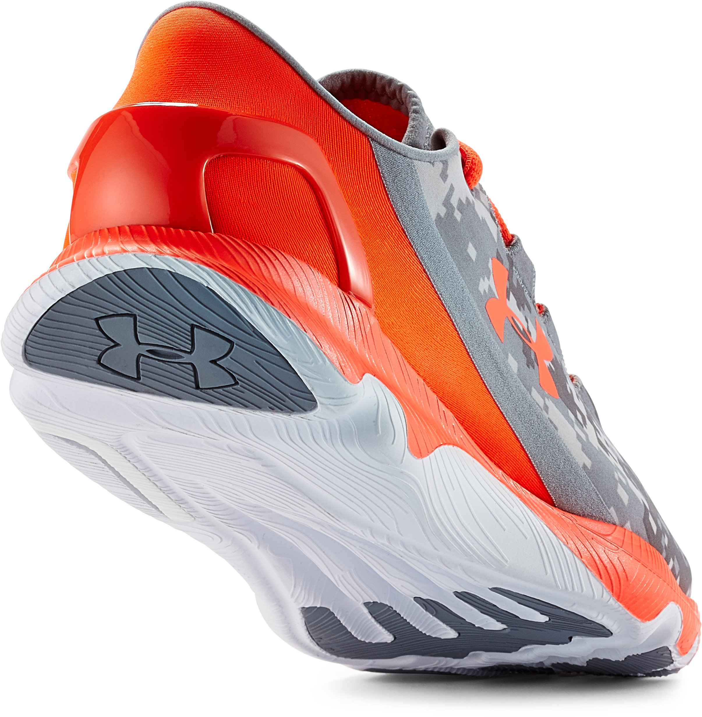 Boys' Grade School SpeedForm® Apollo Running Shoes, GRAVEL