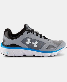 Boys' Grade School Micro G® Assert V Running Shoes   $37.99