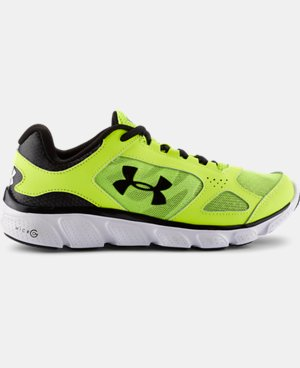 Boys' Grade School Micro G® Assert V Running Shoes LIMITED TIME: FREE U.S. SHIPPING  $37.99