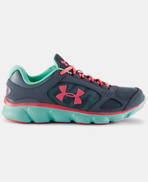 Girls' Grade School UA Assert V  1 Color $69.99