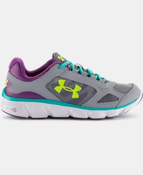 Girls' Grade School UA Assert V  1 Color $37.99