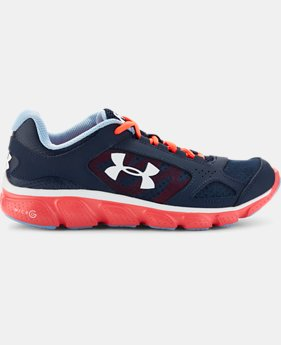 Girls' Grade School UA Assert V  1 Color $28.49 to $37.99