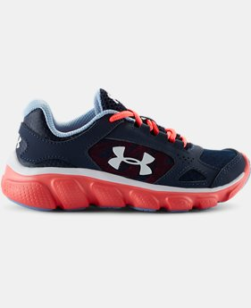 Girls' Pre-School UA Assert V  1 Color $37.99