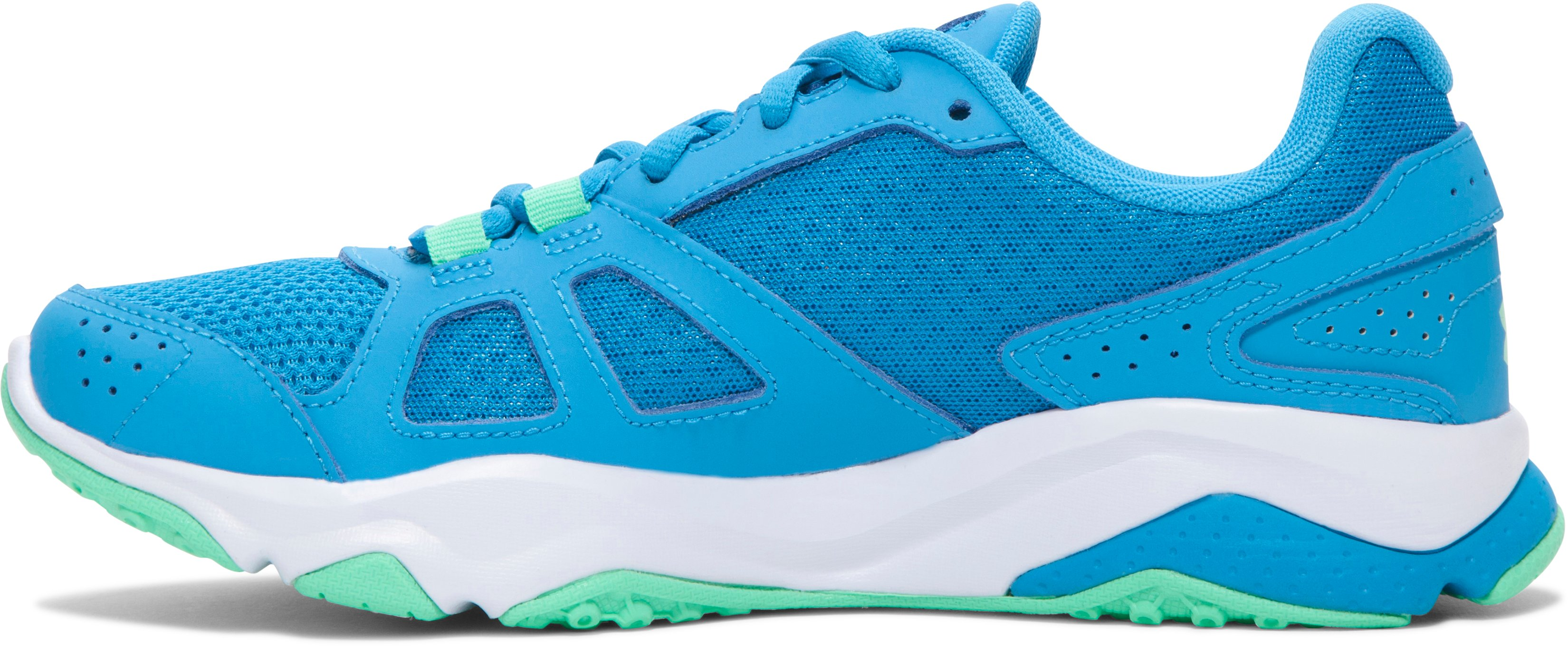 Women's UA Micro G® Strive V Training Shoes , DYNAMO BLUE, undefined