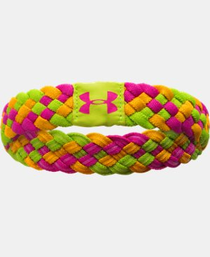 Girls' UA Multibraid Headband LIMITED TIME: FREE U.S. SHIPPING 1 Color $6.74