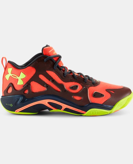 Men's UA Micro G® Anatomix Spawn 2 Low Basketball Shoes  1 Color $67.49