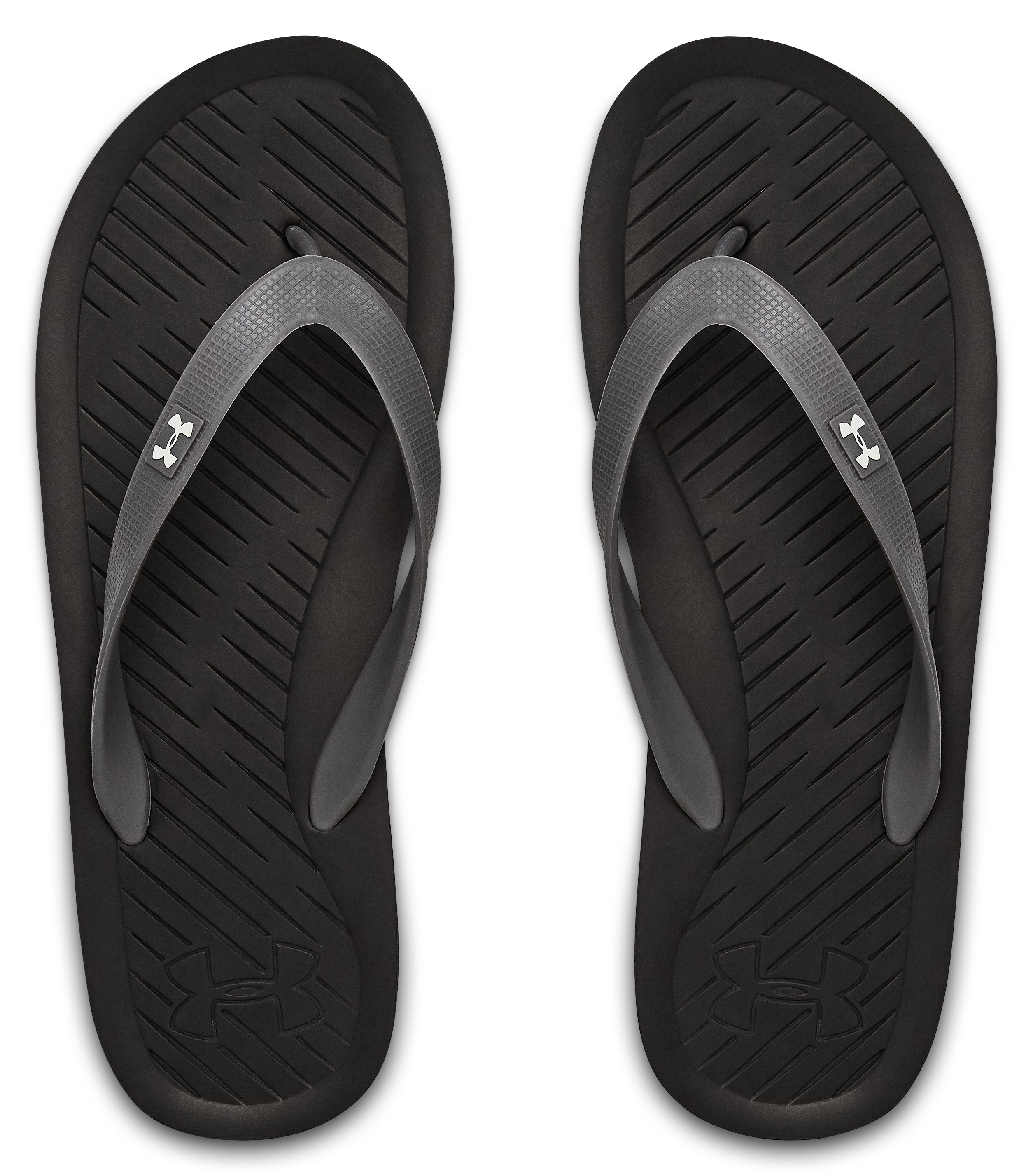 Men's UA Atlantic Dune Sandals, Black , undefined