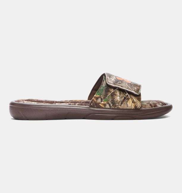 fa06dd16945e Men s UA Ignite Camo Slide Sandals