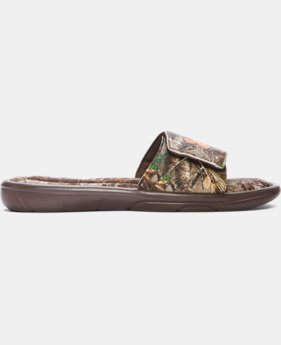 Men's UA Ignite Camo Slide Sandals   $39.99