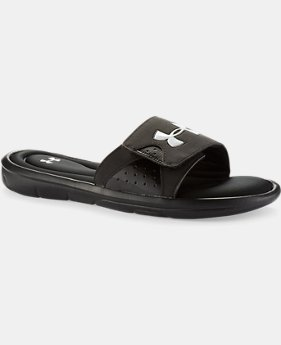 Best Seller  Men's UA Ignite Slides  1 Color $39.99