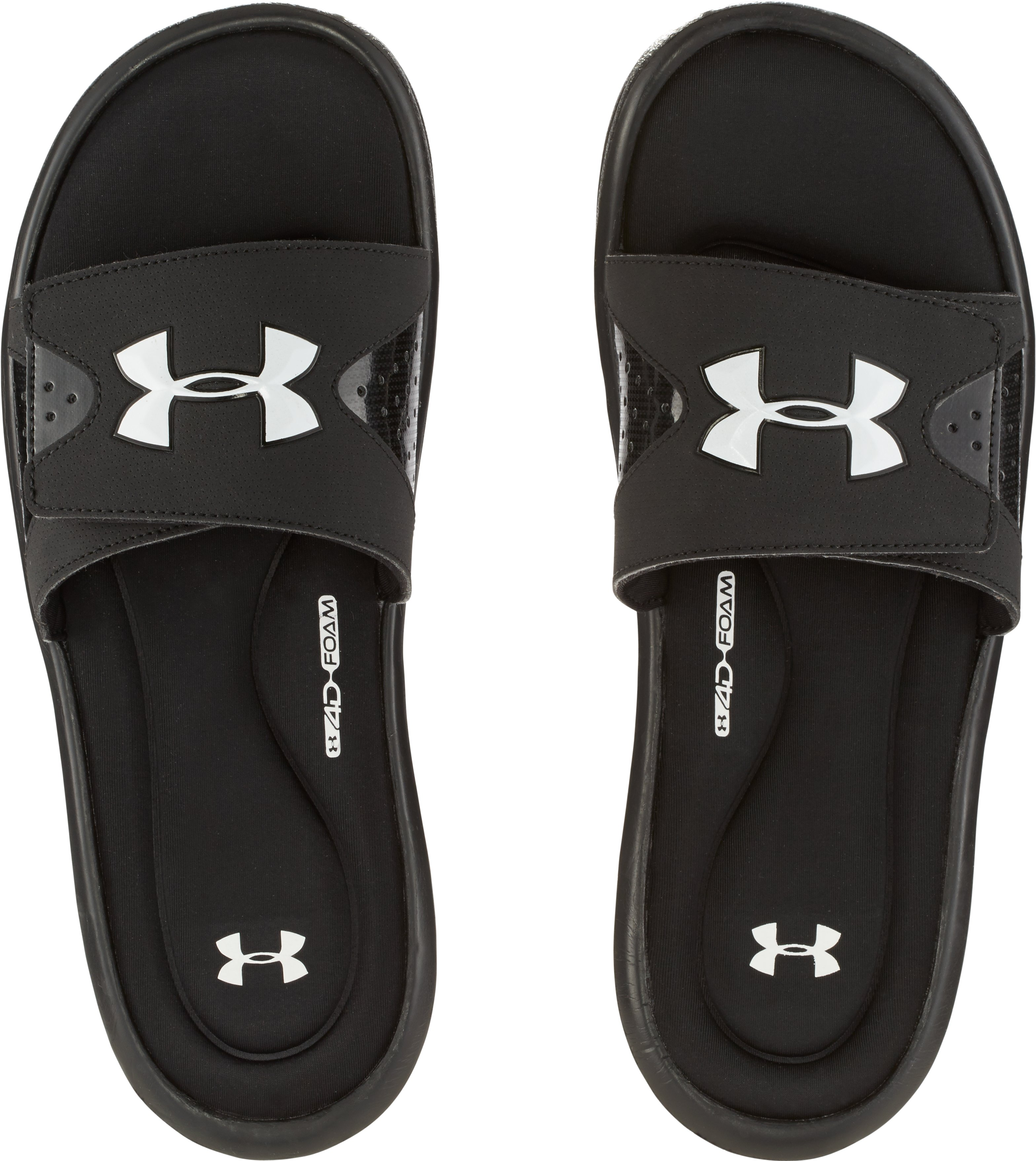 Men's UA Ignite Slides, Black