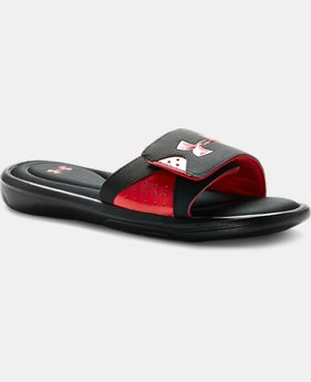 Men's UA Ignite Slide Sandals LIMITED TIME: FREE SHIPPING 2 Colors $39.99